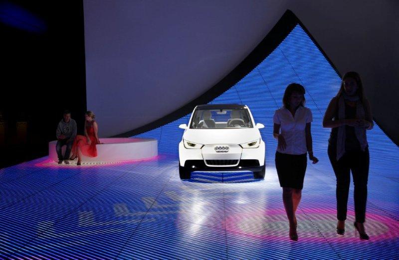 Audi 奥迪车展互动设计